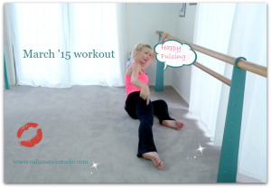 March '15 workout